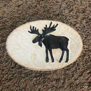 Moose soap holder